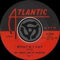 Album What'd I Say [Pt.1] / What'd I Say [Pt.2] [Digital 45]