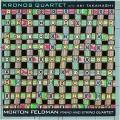 Album Morton Feldman: Piano and String Quartet