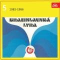 Album Bratislavská lyra Supraphon 5 (1982-1986)
